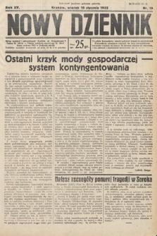 Nowy Dziennik. 1932, nr19