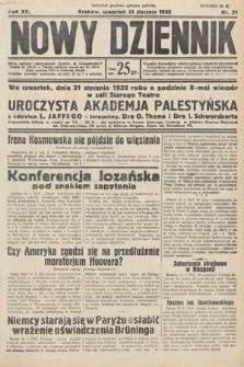 Nowy Dziennik. 1932, nr21