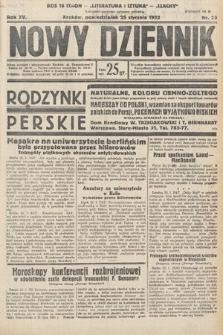 Nowy Dziennik. 1932, nr25