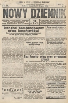 Nowy Dziennik. 1932, nr31