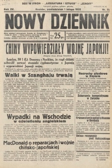 Nowy Dziennik. 1932, nr32