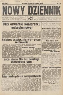 Nowy Dziennik. 1932, nr34