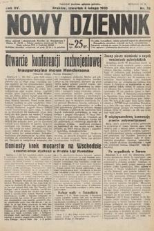 Nowy Dziennik. 1932, nr35