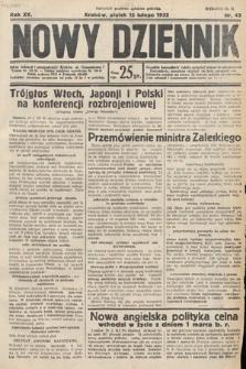 Nowy Dziennik. 1932, nr43