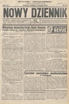 Nowy Dziennik. 1932, nr44