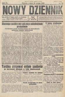 Nowy Dziennik. 1932, nr57