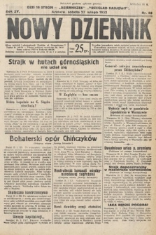Nowy Dziennik. 1932, nr58