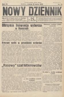 Nowy Dziennik. 1932, nr75