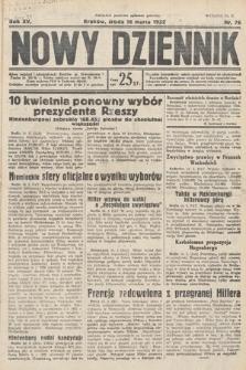 Nowy Dziennik. 1932, nr76