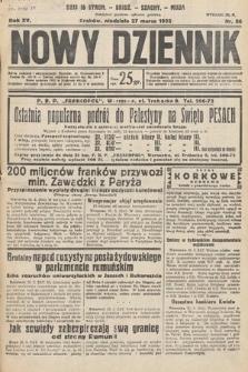 Nowy Dziennik. 1932, nr86