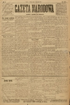 Gazeta Narodowa. 1905, nr3