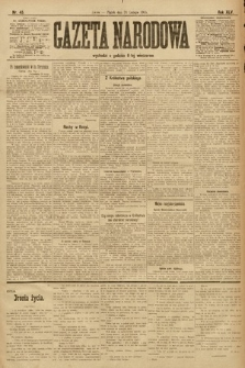 Gazeta Narodowa. 1905, nr45