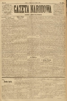 Gazeta Narodowa. 1905, nr57