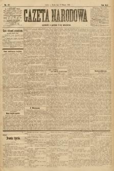 Gazeta Narodowa. 1905, nr67