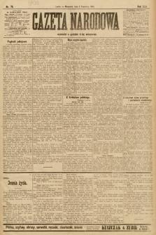 Gazeta Narodowa. 1905, nr79