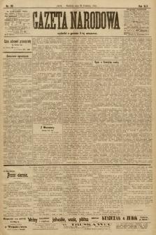 Gazeta Narodowa. 1905, nr99