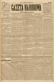 Gazeta Narodowa. 1905, nr163