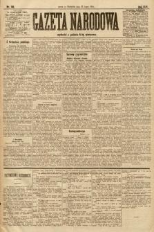 Gazeta Narodowa. 1905, nr166