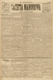 Gazeta Narodowa. 1905, nr173