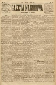 Gazeta Narodowa. 1905, nr187