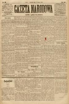 Gazeta Narodowa. 1905, nr198