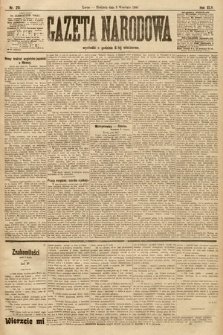 Gazeta Narodowa. 1905, nr201