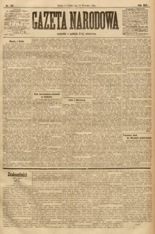 Gazeta Narodowa. 1905, nr210