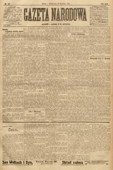 Gazeta Narodowa. 1905, nr211