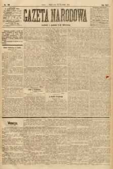 Gazeta Narodowa. 1905, nr216