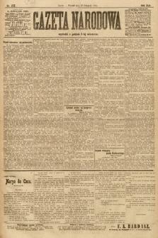 Gazeta Narodowa. 1905, nr272