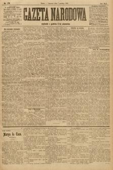 Gazeta Narodowa. 1905, nr279