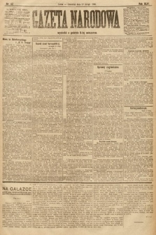 Gazeta Narodowa. 1906, nr 42