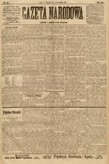 Gazeta Narodowa. 1906, nr 87