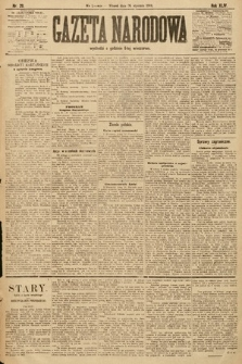 Gazeta Narodowa. 1904, nr20