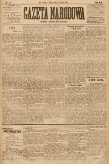Gazeta Narodowa. 1904, nr34