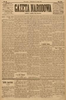 Gazeta Narodowa. 1904, nr43