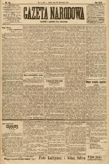 Gazeta Narodowa. 1904, nr99