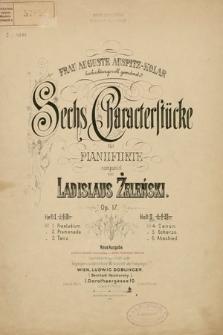 Sechs Charakterstücke : für Pianoforte : Op. 17. H. 2