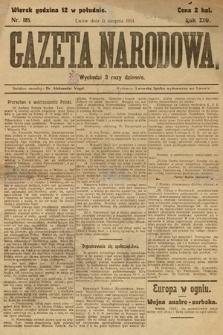 Gazeta Narodowa. 1914, nr185