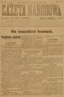 Gazeta Narodowa. 1915, nr17