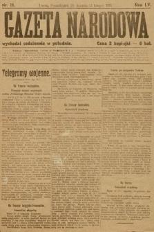 Gazeta Narodowa. 1915, nr18