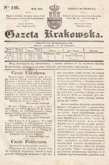 Gazeta Krakowska. 1834, nr146
