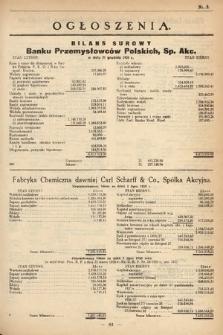 Ogłoszenia [dodatek do Dziennika Urzędowego Ministerstwa Skarbu]. 1929, nr5