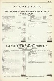 Ogłoszenia [dodatek do Dziennika Urzędowego Ministerstwa Skarbu]. 1929, nr8