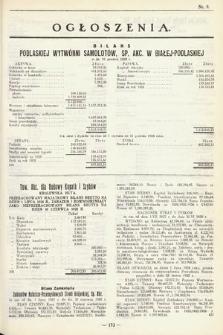 Ogłoszenia [dodatek do Dziennika Urzędowego Ministerstwa Skarbu]. 1929, nr9