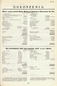Ogłoszenia [dodatek do Dziennika Urzędowego Ministerstwa Skarbu]. 1929, nr12