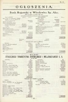 Ogłoszenia [dodatek do Dziennika Urzędowego Ministerstwa Skarbu]. 1929, nr15