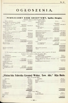 Ogłoszenia [dodatek do Dziennika Urzędowego Ministerstwa Skarbu]. 1929, nr18