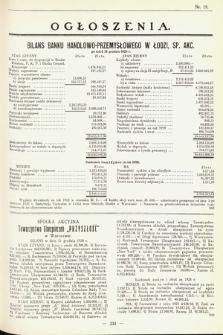 Ogłoszenia [dodatek do Dziennika Urzędowego Ministerstwa Skarbu]. 1929, nr19