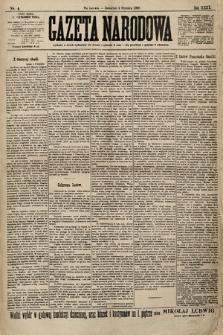 Gazeta Narodowa. 1900, nr4